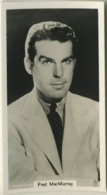 Fred MacMurray 1939 RJ Lea Tobacco Card