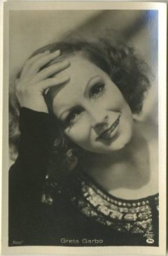 Greta Garbo 1930s A Batschari Tobacco Card