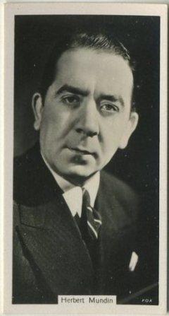Herbert Mundin 1937 John Sinclair Tobacco Card