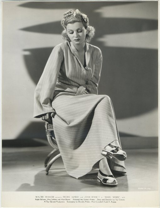 Joan Bennett in Trade Winds Still Photo