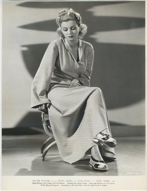 Joan Bennett in Trade Winds Still Photo