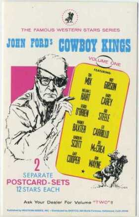 John Ford Cowboy Kings Ad