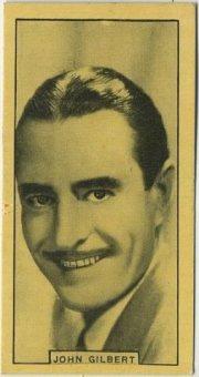 John Gilbert 1932 BAT Tobacco Card