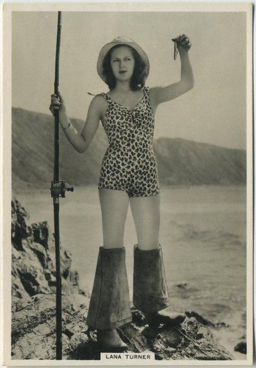 Lana Turner 1930s BAT Modern Beauties Tobacco Card from Series 6