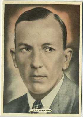 Noel Coward 1935 Ardath Film Stage and Radio Stars Tobacco Card