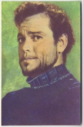 Orson Welles 1951 Artisti del Cinema Trading Card