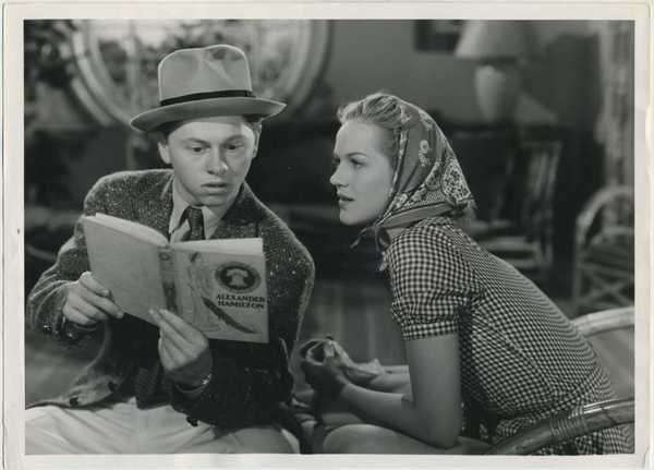 Mickey Rooney and Martha O'Driscoll