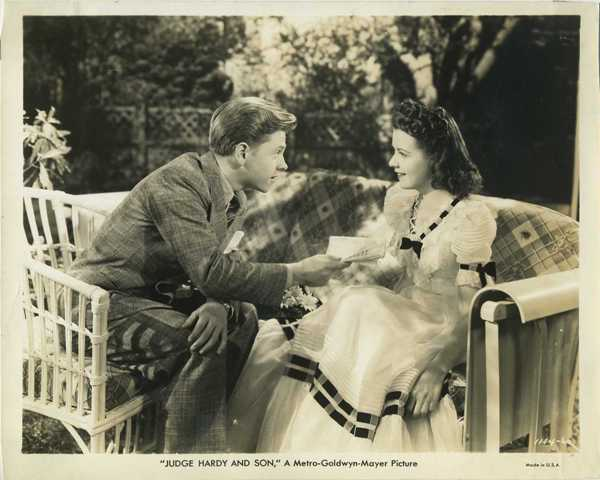 Mickey Rooney and Margaret Early