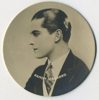 Ramon Novarro 1924 Godfrey Phillips Tobacco Card