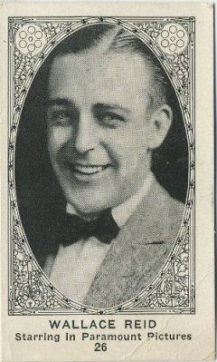 Wallace Reid American Caramel Trading Card