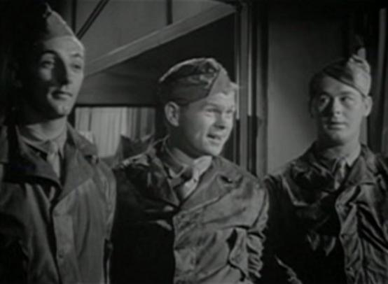 Robert Mitchum, Barry Nelson and Don DeFore