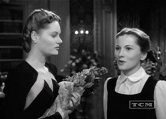 Alexis Smith and Joan Fontaine