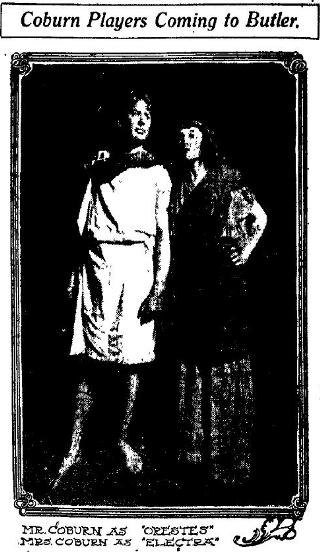 Charles and Ivah Coburn 1911