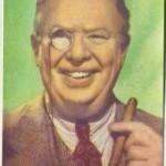 Charles Coburn 1951 Artisti del Cinema Trading Card