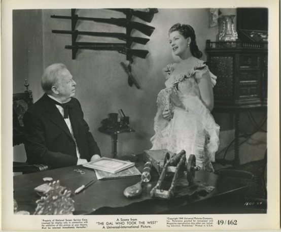 Charles Coburn with Yvonne De Carlo