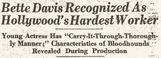 Charleston Gazette headline, November 20, 1932, page 16.