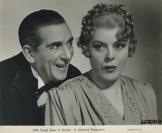 Edward Everett Horton and Mary Boland