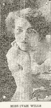 Ivah Wills from the Syracuse Post Standard, August 4 1908, page 5