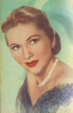 Joan Fontaine 1951 Artisti del Cinema Trading Card