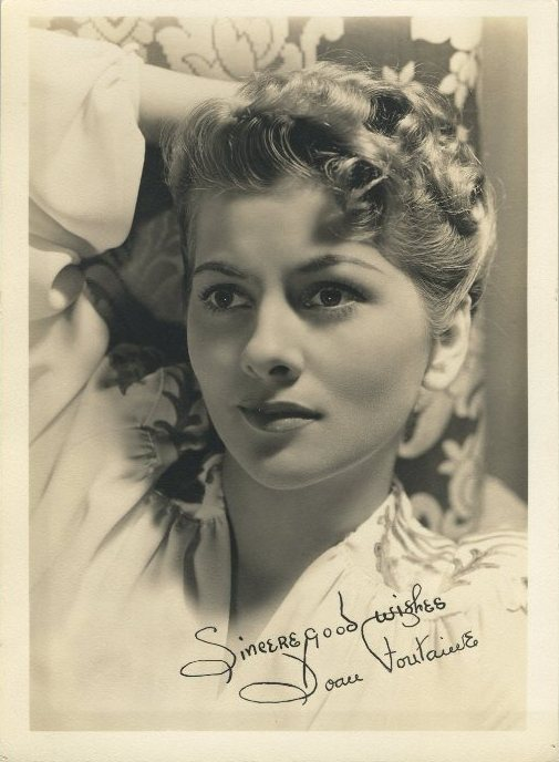 Joan Fontaine 5x7 Fan Photo