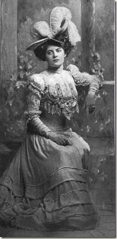 Mary Boland November 1906 Burr McIntosh Photo