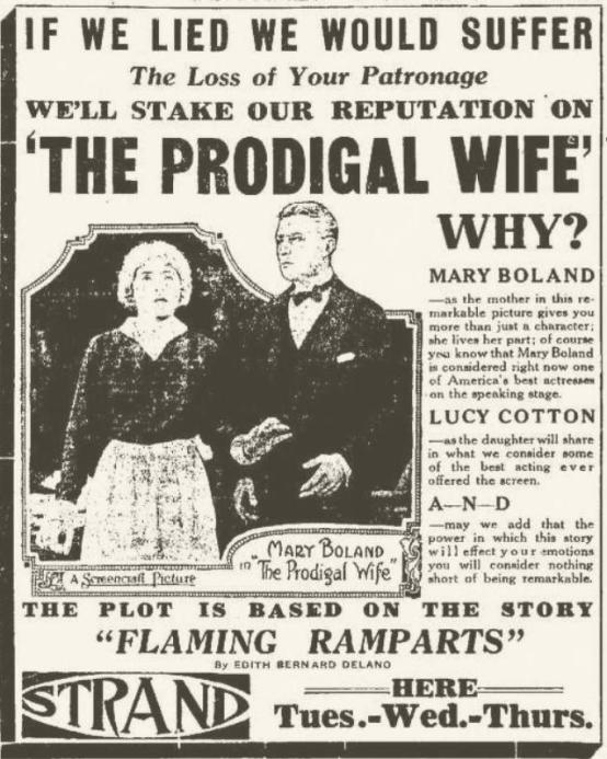 Mary Boland in The Prodigal Wife