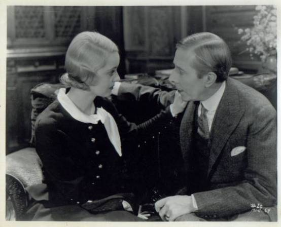 Bette Davis and George Arliss in The Man Who Played God