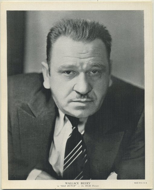 Wallace Beery 1936 R95 Premium Photo
