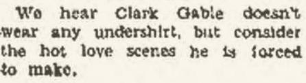 August 8, 1934, Ruston Daily Leader. They just heard that somewhere.