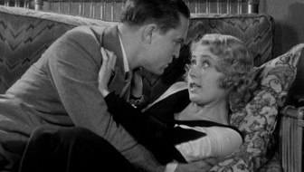 Chester Morris and Joan Blondell