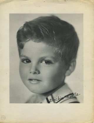 Dickie Moore 1933 Dixie Premium Photo