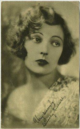 Dorothy Mackaill 1928 Blatz Gum trading card