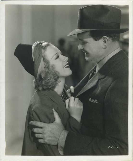 Glenda Farrell and Barton MacLane