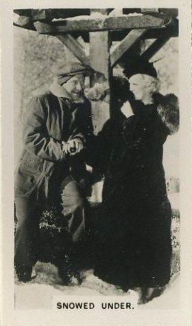 Glenda Farrell and Frank McHugh 1936 Peter Jackson Tobacco Card