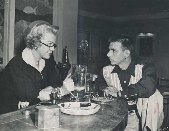 Glenda Farrell with Alvy Moore