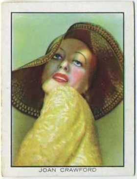 Joan Crawford 1933 BAT Tobacco Card