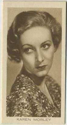 Karen Morley 1931 BAT Cinema Artistes