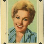 Kim Novak 1950s Maple Leaf Playing Card