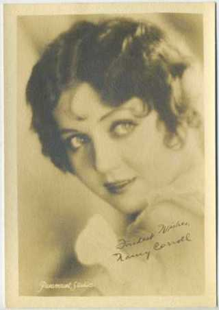 Nancy Carroll 1920s 5x7 Fan Photo