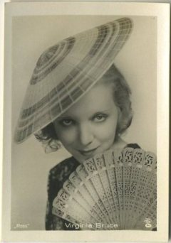 Virginia Bruce 1930s A Batschari German Tobacco Card