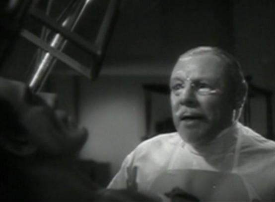Edmund Gwenn and Boris Karloff