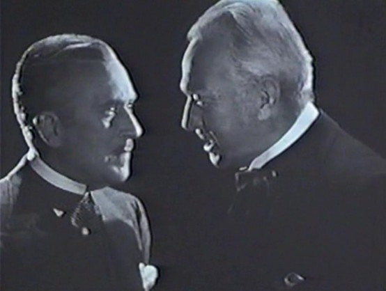 John Halliday and Sir Guy Standing