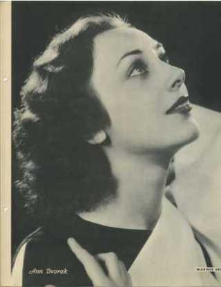 Ann Dvorak 1934 Dixie Premium Photo