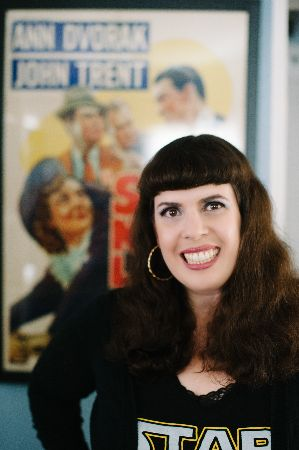 Christina Rice Ann Dvorak biographer
