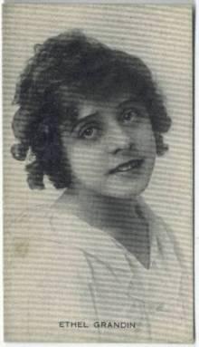 Ethel Grandin 1910s Trading Card