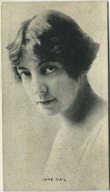 Jane Gail 1910s Trading Card