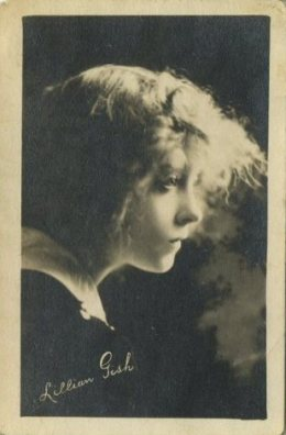 Lillian Gish 1910s Kinema Theater Trading Card