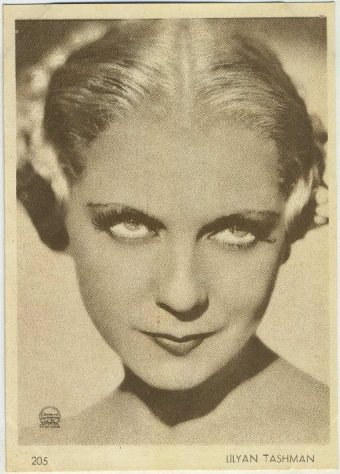 Lilyan Tashman 1930s Aguila Trading Card