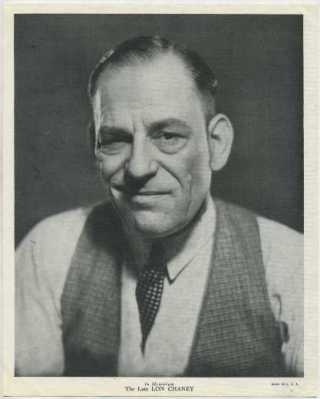 Lon Chaney 1936 R95 Premium Photo