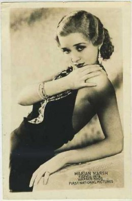 Marian Marsh Warner Brothers First National Promotional Photo